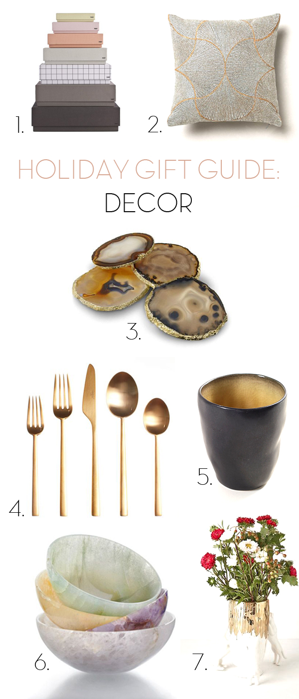 holiday gift guide -decor