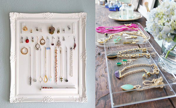 12 Beautiful Ways To Store Your Jewelry // Crafty