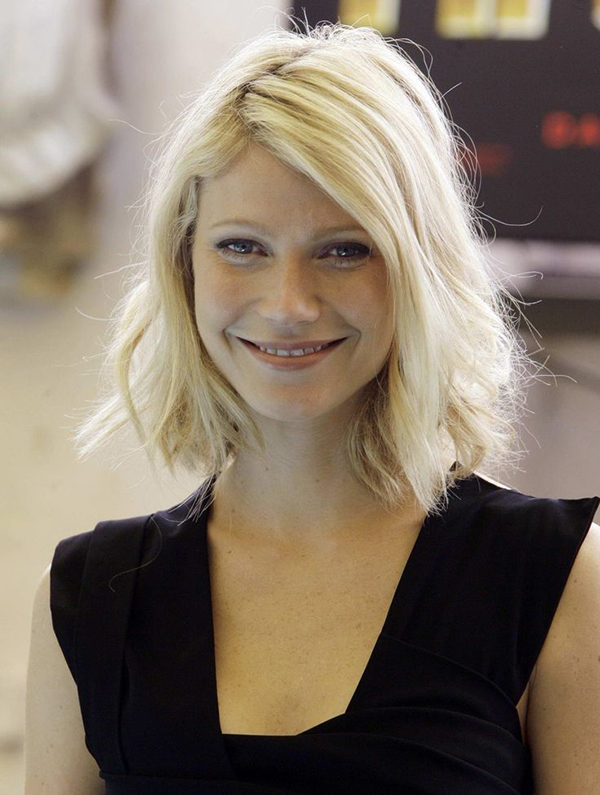 Messy Blunt Bob Inspiration // Gwyneth Paltrow