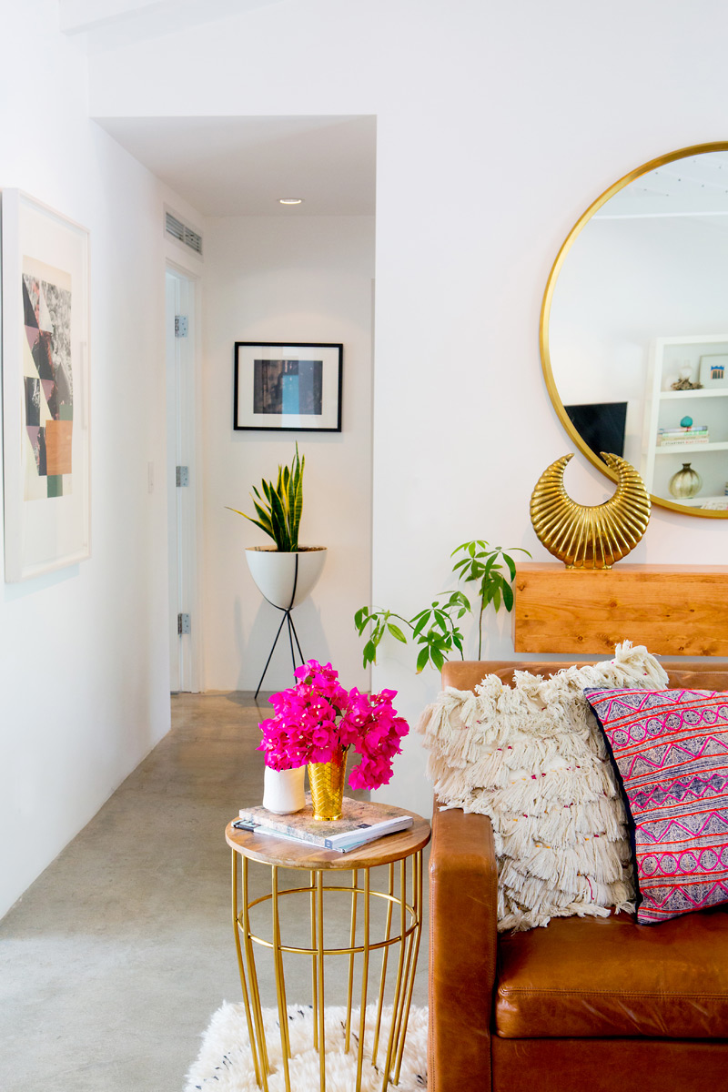 California dreaming living room inspiration for Palm springs interior design style