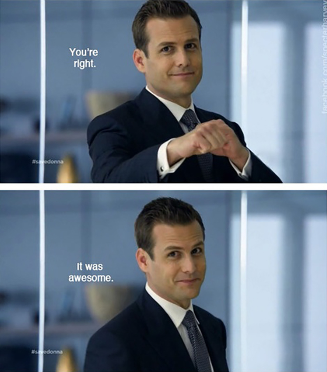 10 fun facts about Suits // Harvey Specter