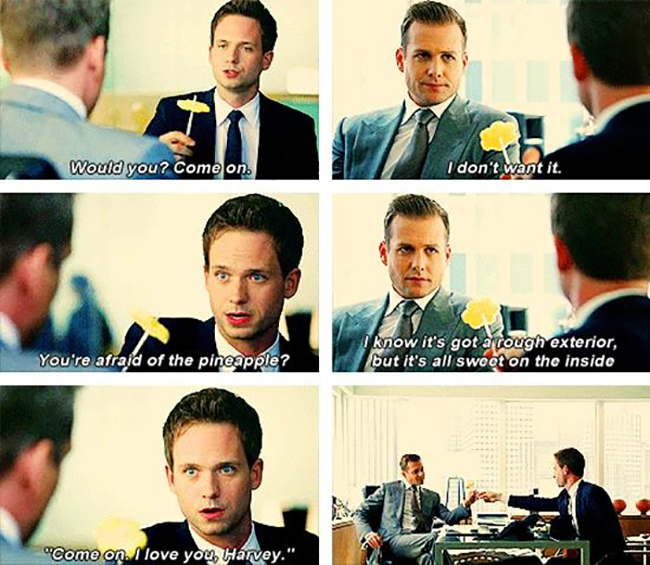 10 fun facts about Suits // Harvey & Mike