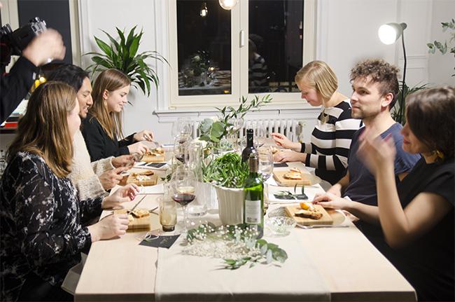 Belgetarian Dinner Party