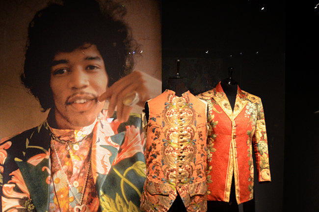 Dries Van Noten Inspirations at MoMu - SS14 Flowers for men/ Jimi Hendrix
