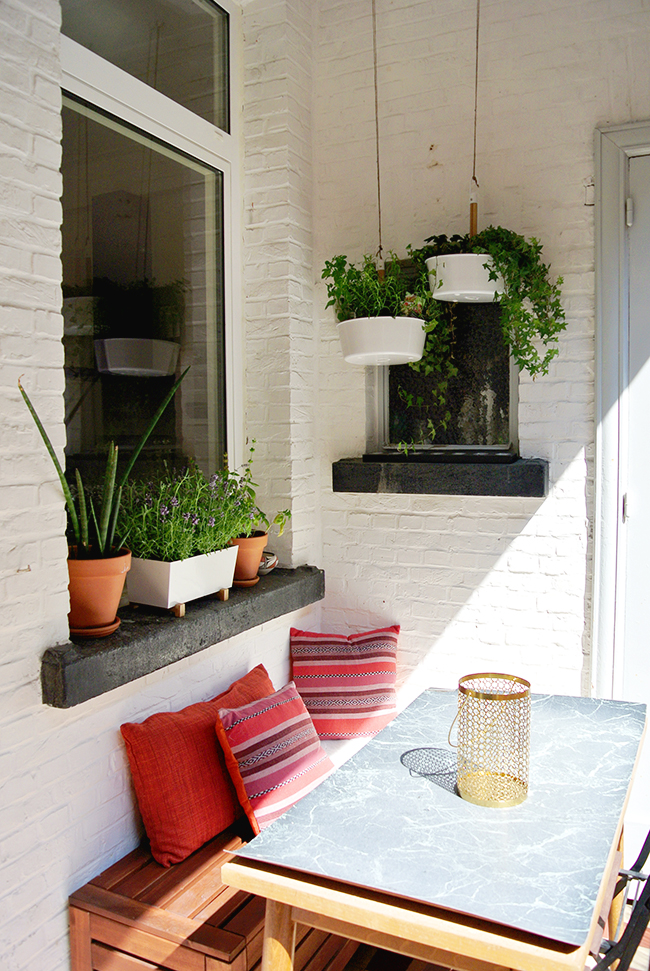 Home Renovation: Terrace Update via noglitternoglory.com