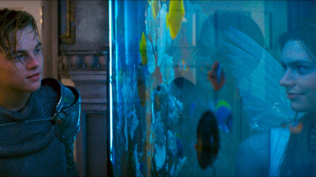 Get the look: Romeo + Juliet // Interior inspiration from Baz Luhrmann's 1996 masterpiece - fishtank scene