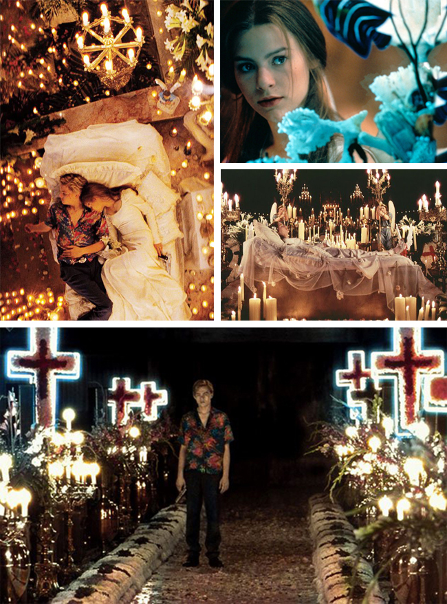 Get the look: Romeo + Juliet // Interior inspiration from Baz Luhrmann's 1996 masterpiece - Light