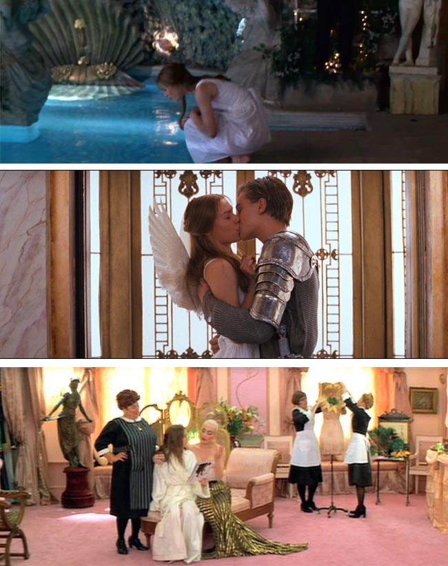 Get the look: Romeo + Juliet // Interior inspiration from Baz Luhrmann's 1996 masterpiece - Old world charm