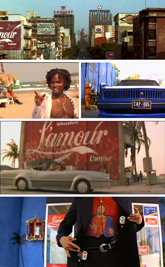 Get the look: Romeo + Juliet // Interior inspiration from Baz Luhrmann's 1996 masterpiece - Miami meets Mexico
