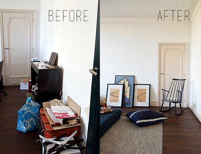 Home Renovation: Our Office / Cinema Room - Before & After