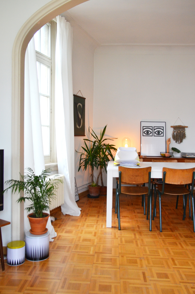 Young Creatives: Sofie Vertongen // Inside her home and studio - via noglitternoglory.com