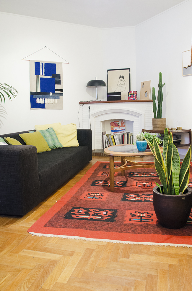 Nathalie and Michiel's Arty & Eclectic Apartment