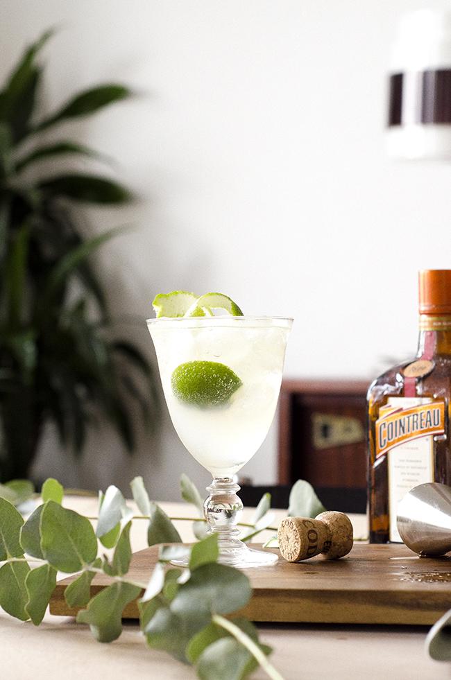 Elderflower Cointreau Fizz Royale Cocktail Recipe // No Glitter No Glory