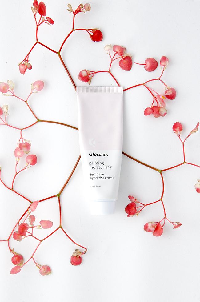 Glossier // priming moisturizer via noglitternoglory.com
