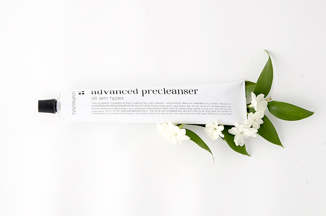 Rainpharma // Advanced precleanser via noglitternoglory.com