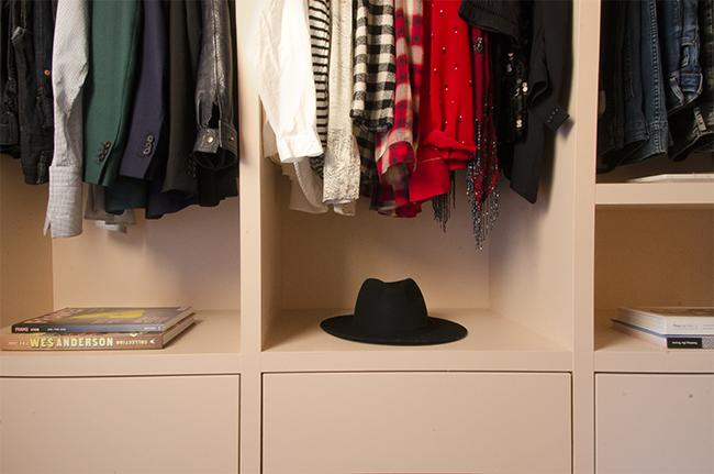 Home Renovation: Pink Closet Reveal // noglitternoglory.com