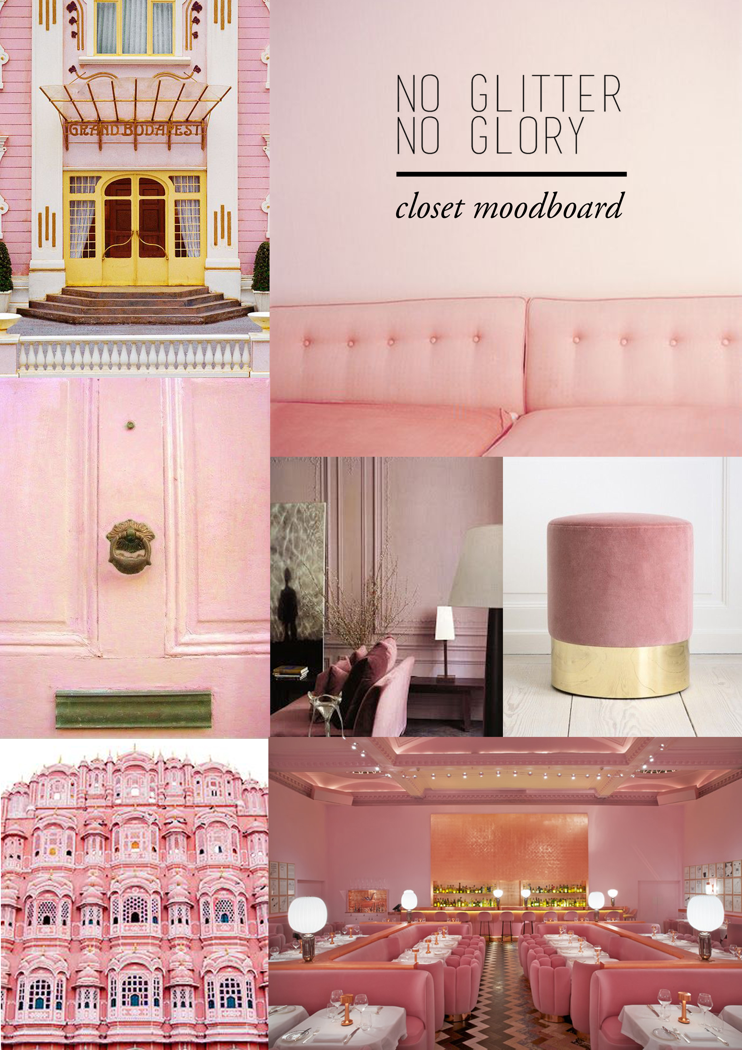 Home Renovation: Pink Closet Inspiration & Moodboard