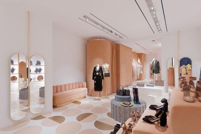 REDvalentino Store in Rome by India Mahdavi - via noglitternoglory.com