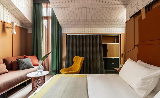 Room Mate Giulia Hotel by Patricia Urquiola - via noglitternoglory.com