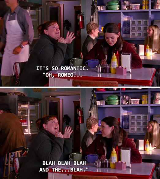 10 fun facts about Gilmore Girls // Sookie and Lorelai
