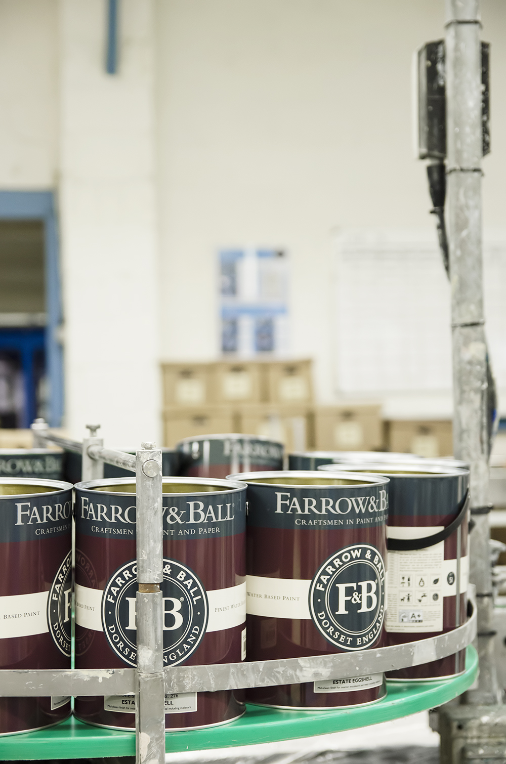Behind the scenes at Farrow & Ball
