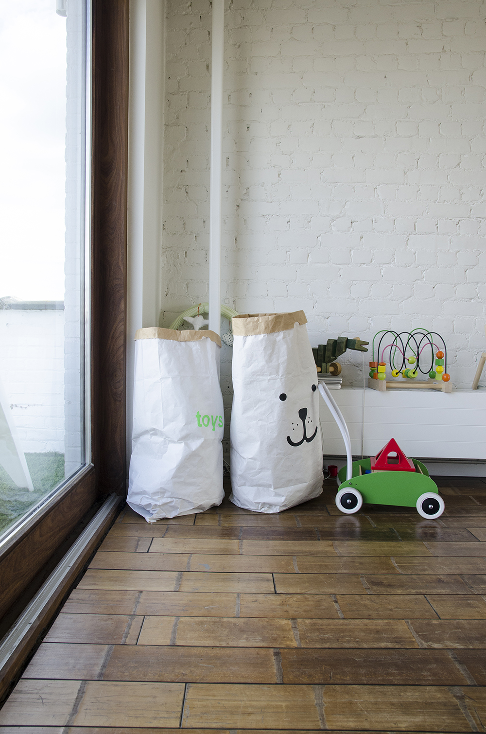 Young Creatives: Melanie Van Dooren //Inside the home and workplace of a Jewelry Designer // Creative toy storage