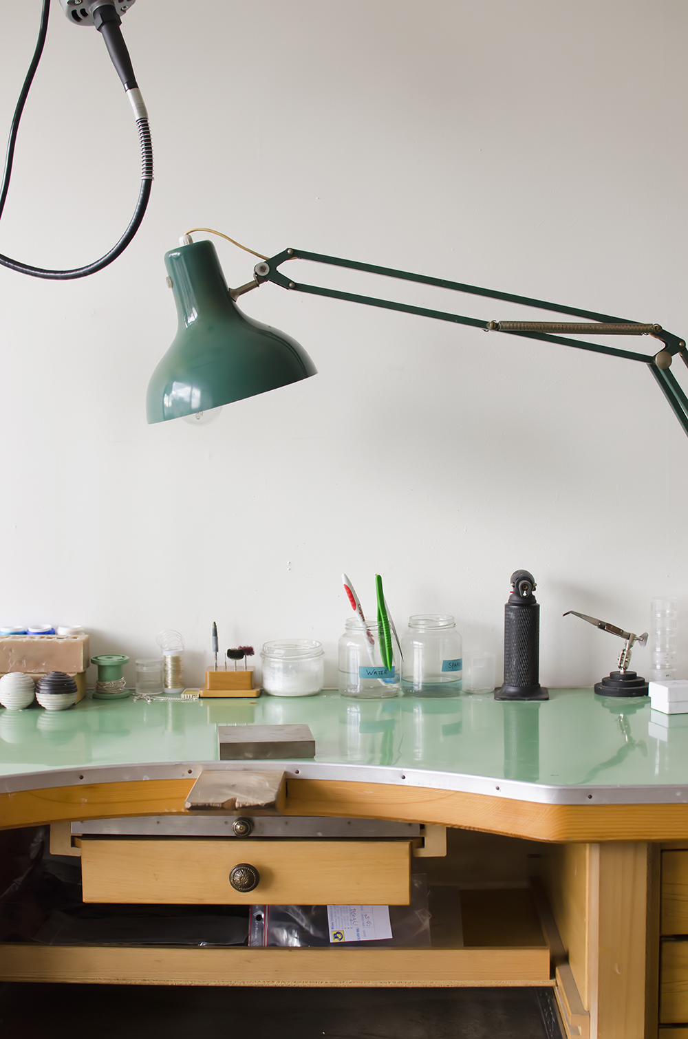 Young Creatives: Melanie Van Dooren //Inside the home and workplace of a Jewelry Designer