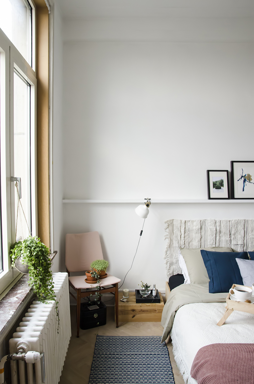 Home Renovation: Bedroom Reveal + How to make your bedroom fall ready