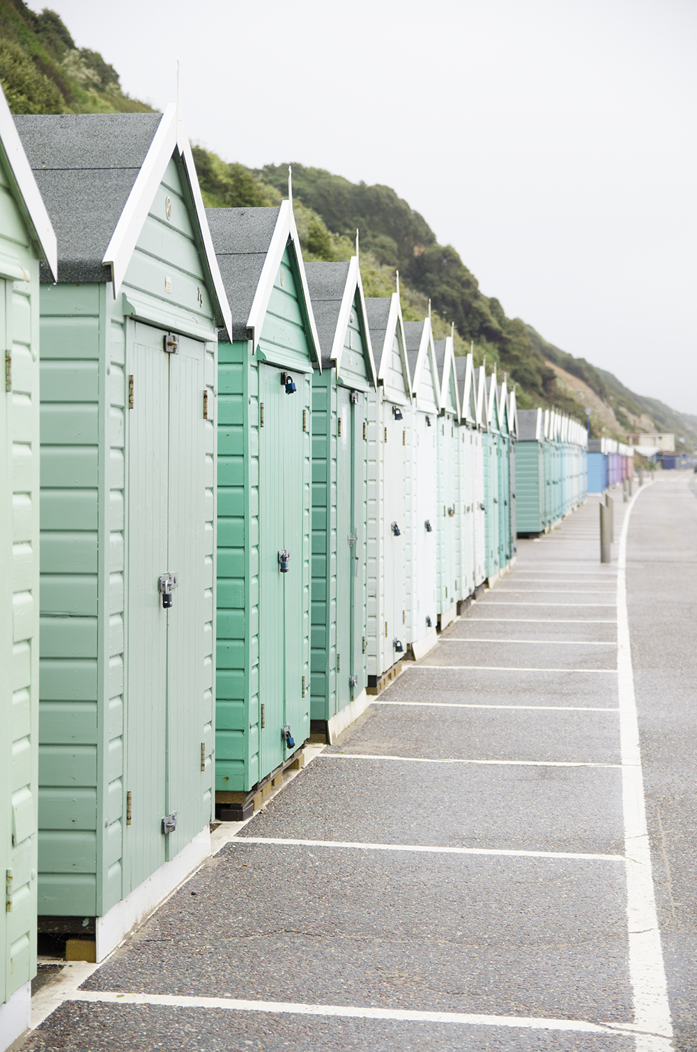 United Beach Huts of Bournemouth - No Glitter No Glory