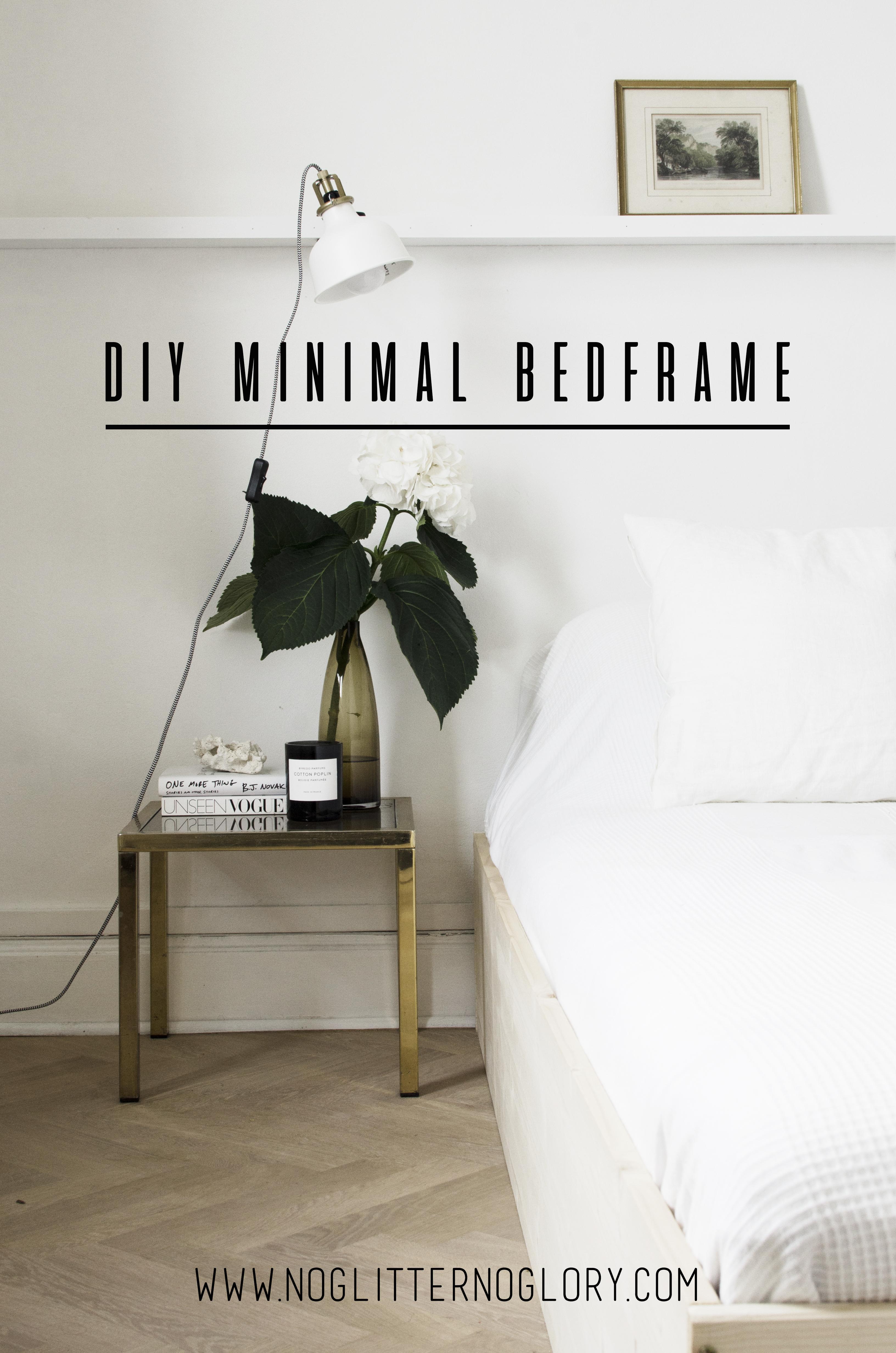 diy minimal bedframe. Black Bedroom Furniture Sets. Home Design Ideas