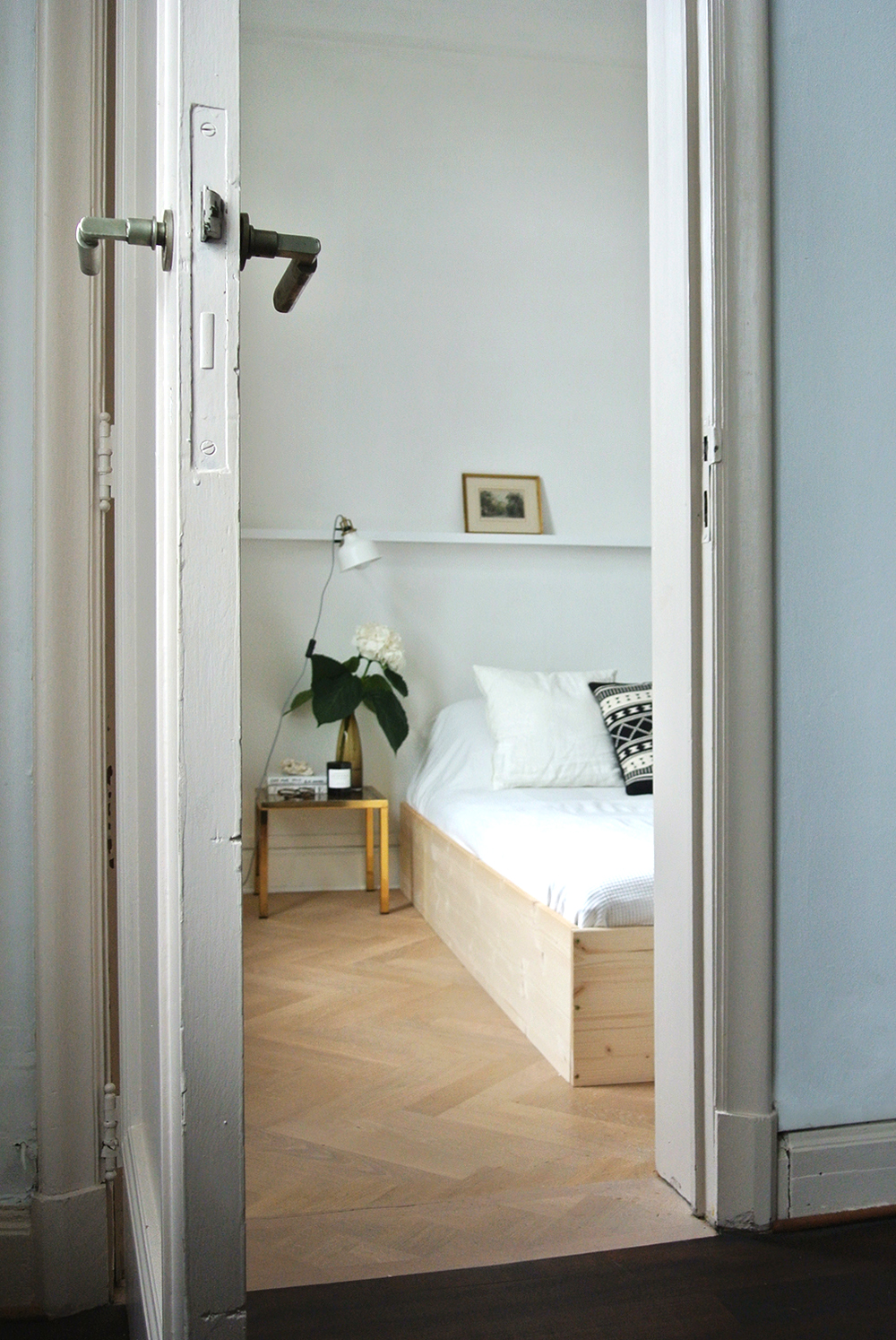 diy glitter furniture. DIY Minimal Bedframe / No Glitter Glory Diy Furniture L