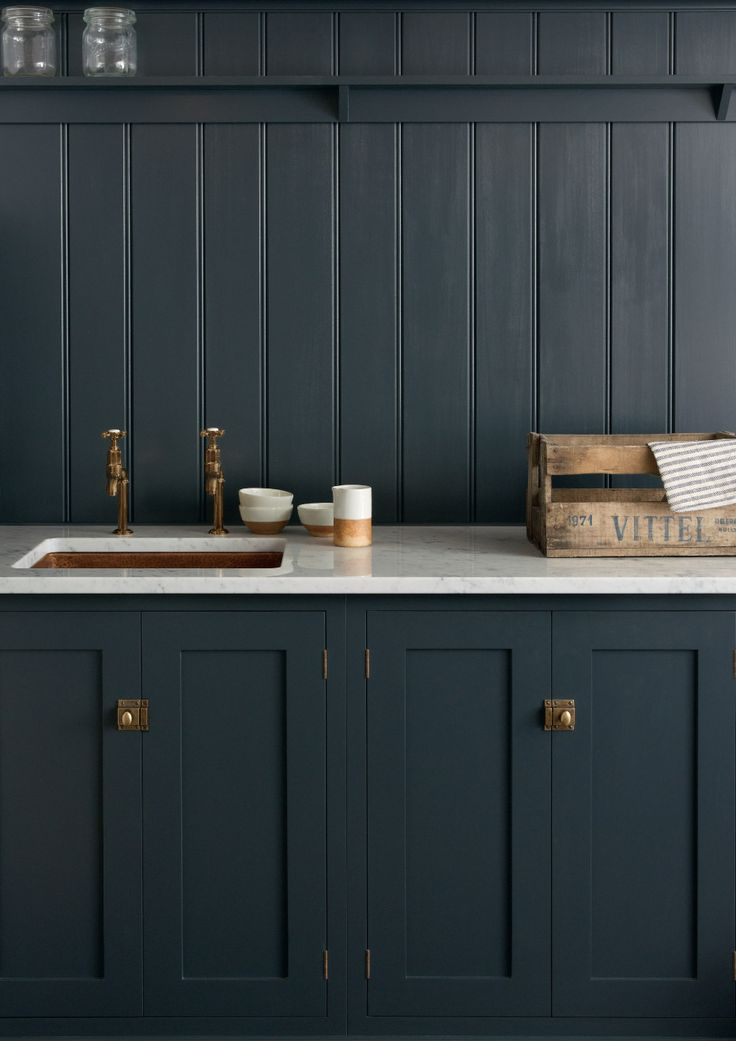 Moody Kitchen Inspiration // No Glitter No Glory