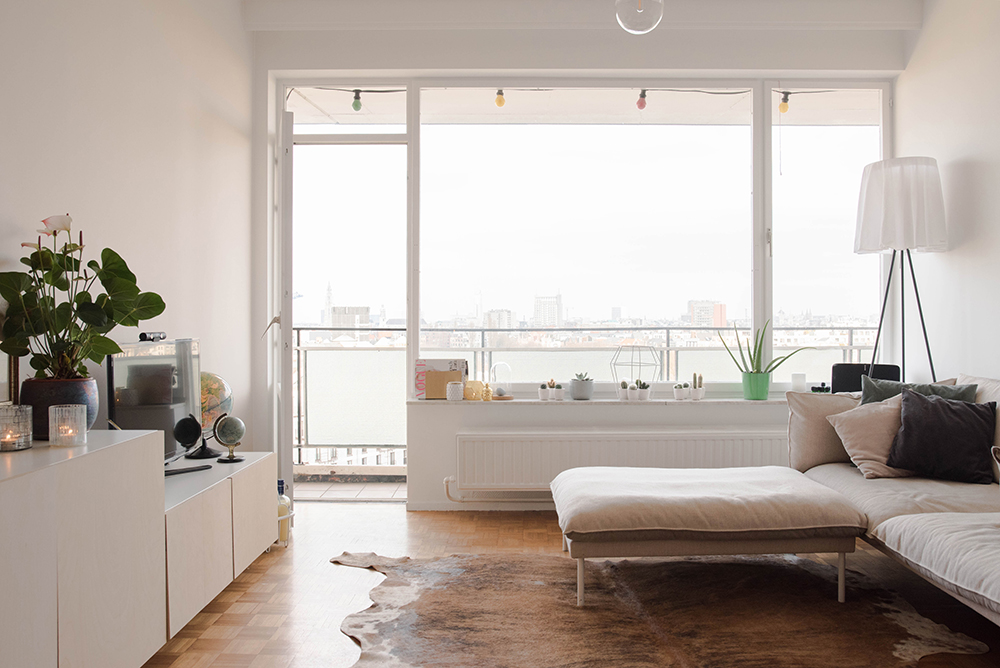 Joy's Cosy Home High in the Sky // A cute vintage Antwerp appartment //No Glitter No Glory