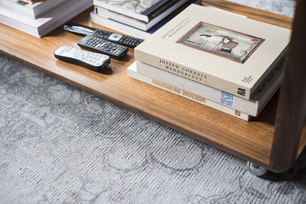 Sarah's Wonderful Moody Antwerp Abode //coffee table books