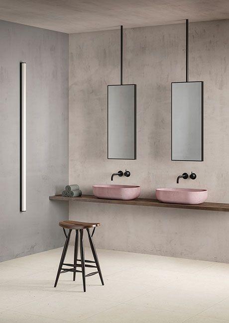 Designer profile Arne Jacobsen // VOLA faucet black - via noglitternoglory